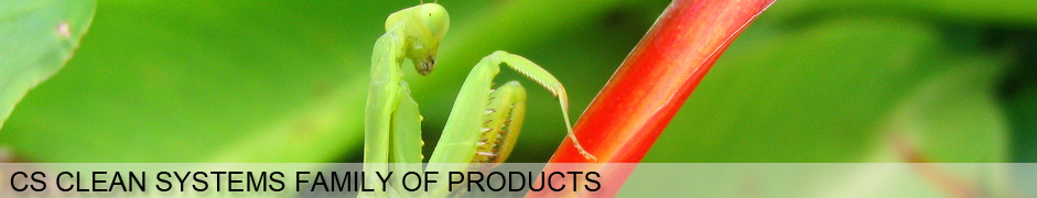 CS Clean Systems family of products